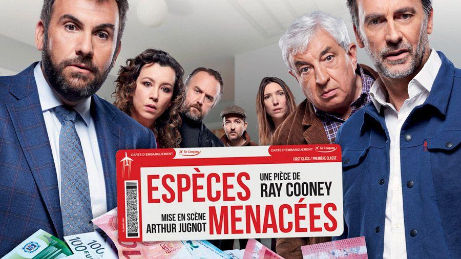 """""""Espèces menacées"""", pièce de théâtre en direct ce soir sur Paris Première"""