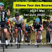 30 et 31 Mai, 1er juin : 32ème Tour des Ecureuils