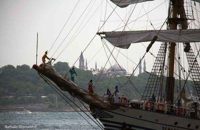 Escale à Istanbul de la régate des grands bateaux historiques