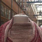 Tricoter un châle d'hiver