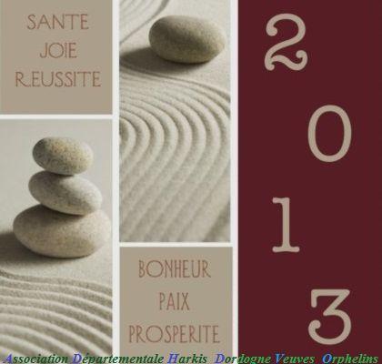 Les Voeux 2013 de Harkis Dordogne et Amis pieds-noirs