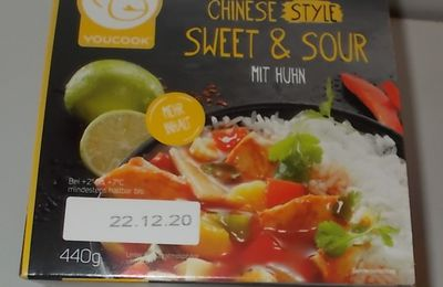 YouCook Chinese Style Sweet & Sour mit Huhn