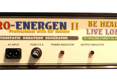 PYROENERGEN II Am Amazing Electrstatic Therapy Machine! Get rid of Diseases!