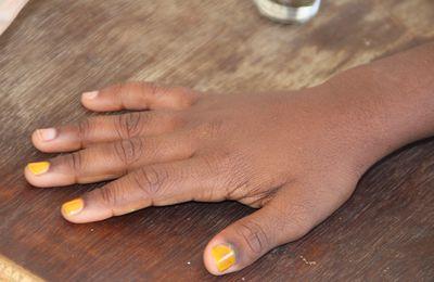 Couleur ambrée