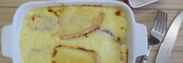 Endives au jambon au Maroilles façon Cyril Lignac