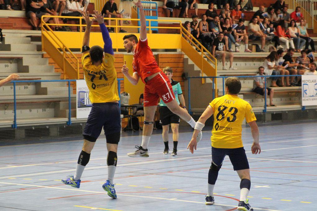 Vénissieux Handball est tombé les deux pieds devant dans le piège tendu par Jean-Paul Coasse et les joueurs caluirards