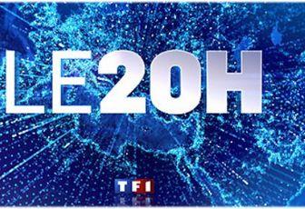 François Hollande et Nicolas Sarkozy invités du JT de 20H de TF1