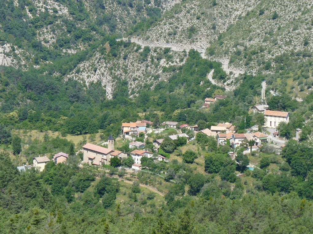 St COLOMBAN  , village de LANTOSQUE