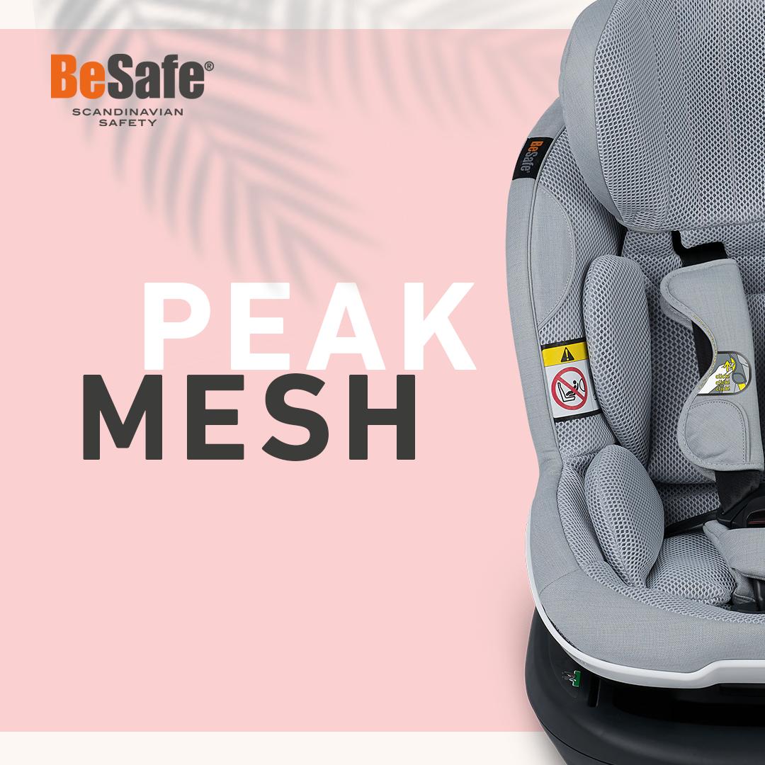 Besafe PEAK MESH Le nouveau tissu 3D Airflow pour les beaux jours