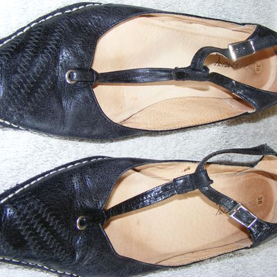 Mocassins noirs cuir You know 38