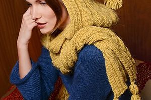 Tutos châles et écharpes au tricot