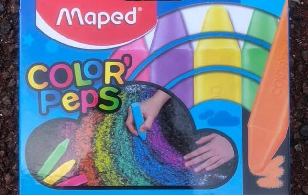 Les craies de trottoir Color'Pep's Maped