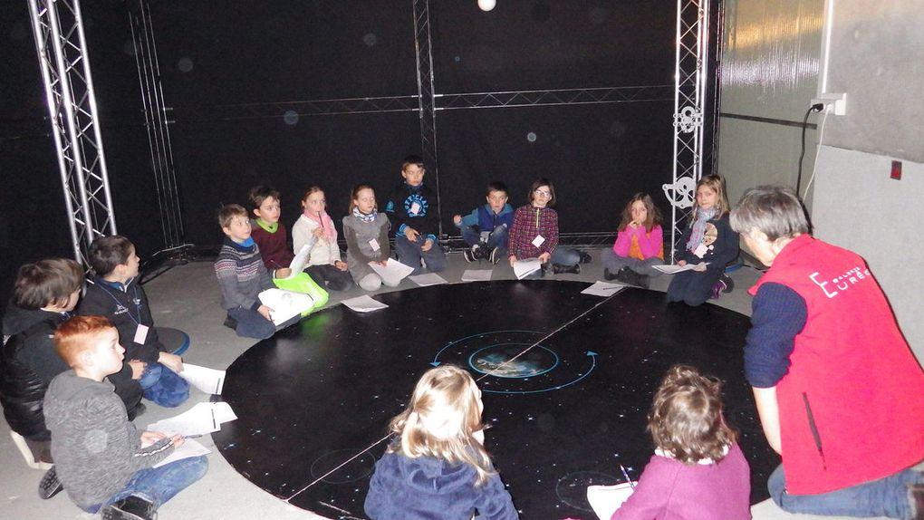 Bessans : les écoliers à la découverte des astres et de Chambéry