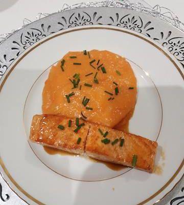 Saumon laqué au miel et à la sauce soja - Quitoque