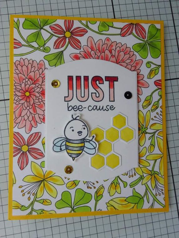 [Simon Says Stamp] kit du mois de juillet : Bee Yourself
