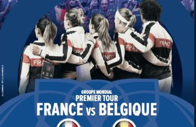 [Infos TV] Tennis (Fed Cup) France / Belgique ce week-end sur France 4 et beIN SPORTS !