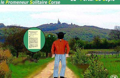 BONAPARTE À AUXONNE ou le Promeneur Solitaire Corse (12) - du 03 janvier 2018 (J+3304 après le vote négatif fondateur)