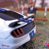 FORD MUSTANG SHELBY GT 350-R 2019 GREENLIGHT 164. - car-collector.net