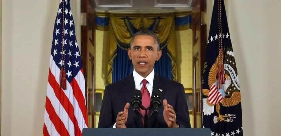L'étrange photo d'Obama avec des cornes