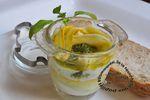 Oeuf cocotte à la courgette pesto et parmesan (cuit-oeuf)