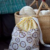 SEWING || FREE BONNIE DRAWSTRING PROJECT BAG TUTORIAL!