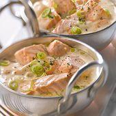 La blanquette de saumon, un plat pour toute la famille !
