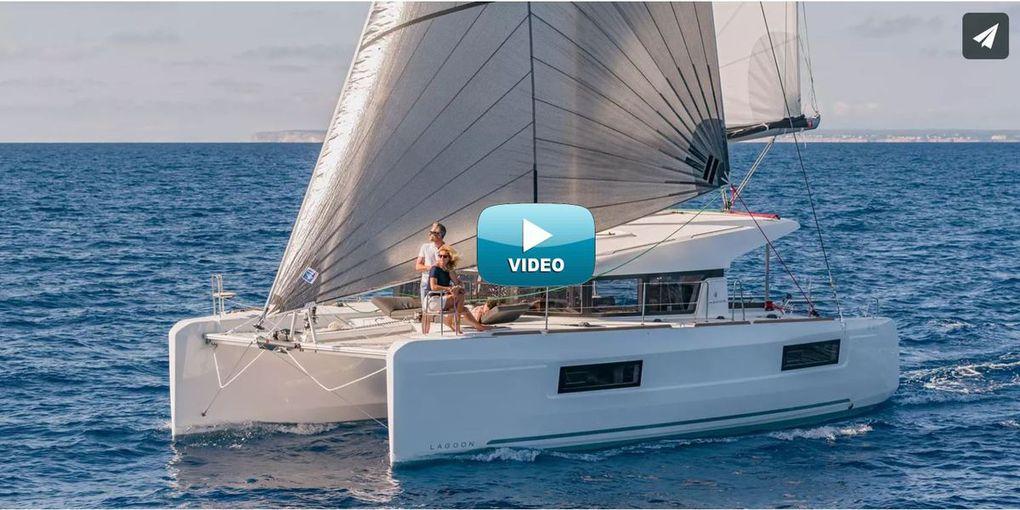 Vidéo - 2.34 Minutes de Bonheur à bord d'un Lagoon 40