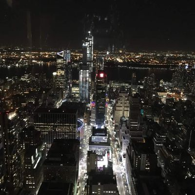 New-York - Empire State Building by night