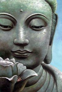 Deux citations du Bouddha.