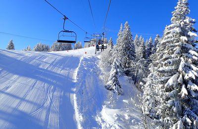 Snowboard et ski aux Contamines- Montjoie