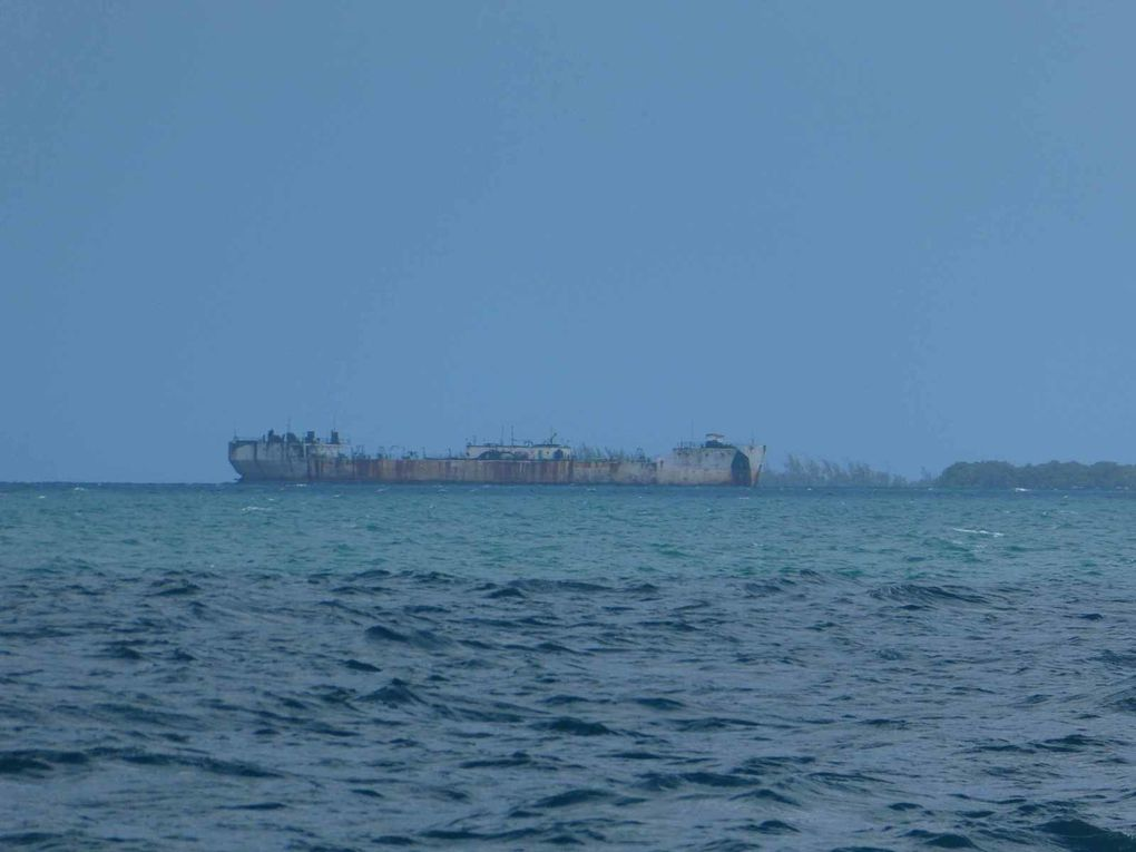 En approche de Belize City
