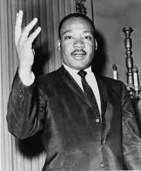 Martin Luther King, a fighter for peace.