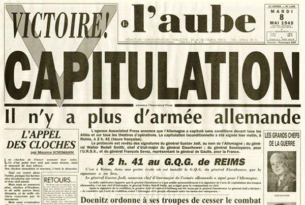Armistice du 8 mai 1945