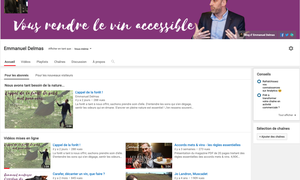 LA CHAINE YOUTUBE DU BLOG DU SOMMELIER