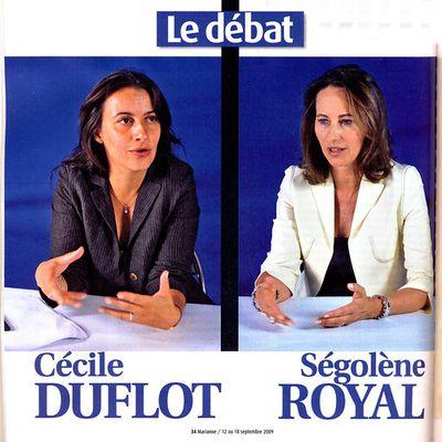 Dialogue entre Cécile Duflot et Ségolène Royal