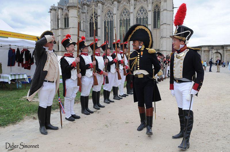 Les Grognards de la Marne à la  28e édition des journées européennes du patrimoine au château de Vincennes