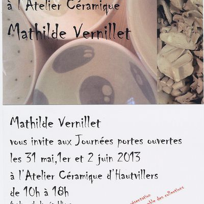 JOURNEES PORTES OUVERTES A L'ATELIER JUIN 2013
