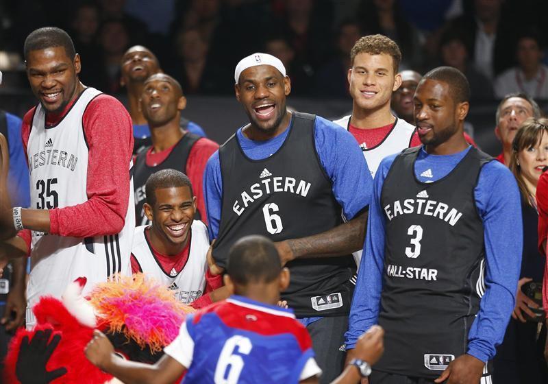 ASG: Kevin Durant et Dwayne Wade remplaçants