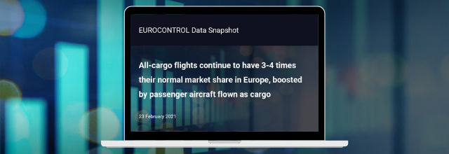 All-cargo flights continue to have 3-4 times their normal market share in Europe