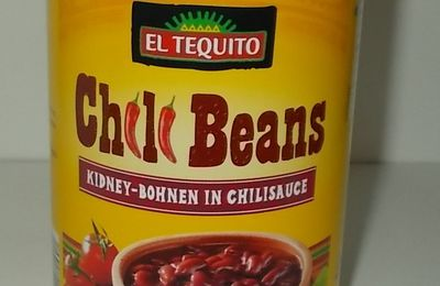 Lidl El Tequito Chili Beans Kidney-Bohnen in Chilisauce