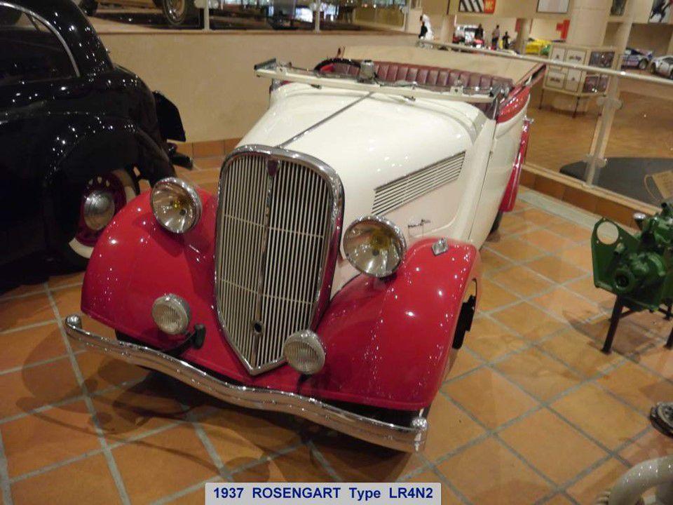 Monaco - et ses anciennes voitures 2