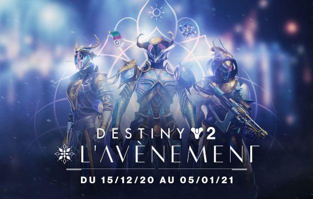 [ACTUALITE] Destiny 2 - Gardiens, préparez-vous à répandre l'esprit des fêtes avec l'Avènement