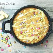 "One Pan Cookie ou ""pizzookie"" aux smarties - Les gourmands {disent} d'Armelle"