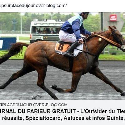 LE JOURNAL GRATUIT DU PARIEUR - 04 JUILLET 2021 - COUPLE DU JOUR DU TIERCE EN COUVERTURE