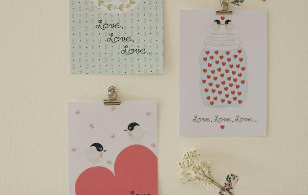 Love, love, love {printables}