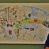 Ausstellung des Veitshöchheimer Malers Peter Stein in der Bücherei im Bahnhof bis zum 12. September 2020 mit Exponaten seines Vaters Dieter und von Günther Berger † - Veitshöchheim News