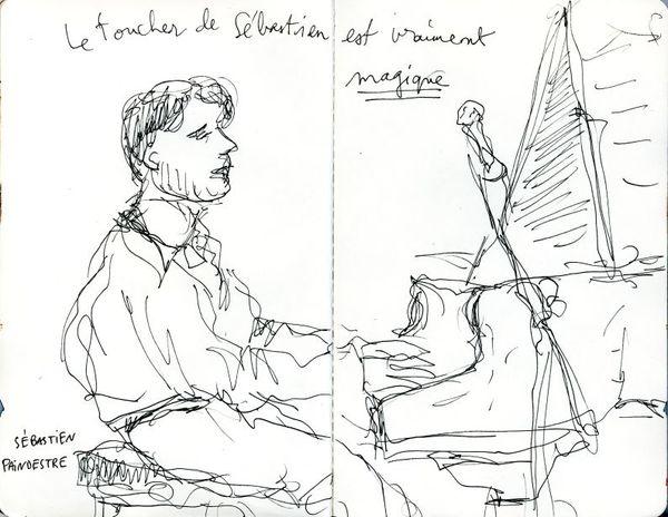 Sébastien Paindestre trio (L'Ecoutille, février 2007)
