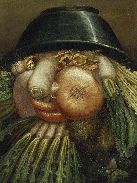 images du cours sur Bosch, Breughel et Archimboldo (oeuvres commentées et oeuvres à découvrir)