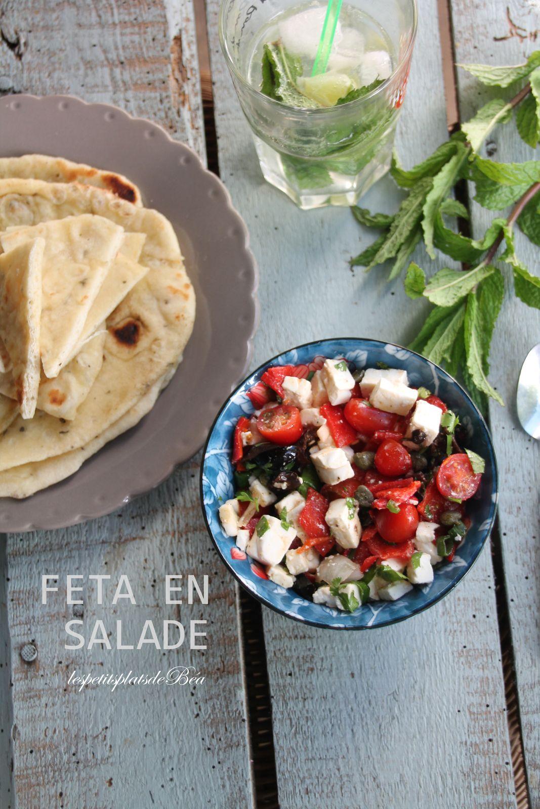 Feta en salade