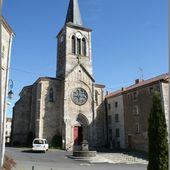 Monument et église au Vernet la Varenne - L'Auvergne Vue par Papou Poustache